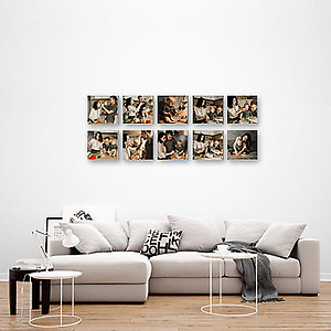 Multi Canvas Print - 10pcs 10