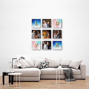 Multi Canvas Print - 9pcs 12