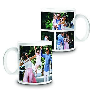 Photo Mug Collage 4 - 11oz