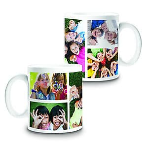 Photo Mug Collage 5 - 11oz