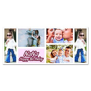 Photo Mug Birthday Collage 5 - 11oz