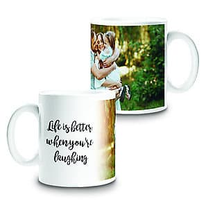 Photo Mug Life Is Better - 11oz