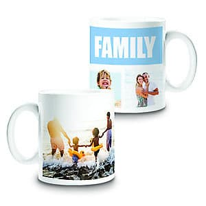 Photo Mug Family Collage 3 - 11oz