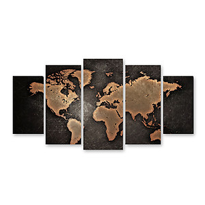 Split Canvas Print - 5pcs Multiple Size