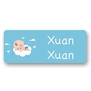 Medium Name Label - Baby