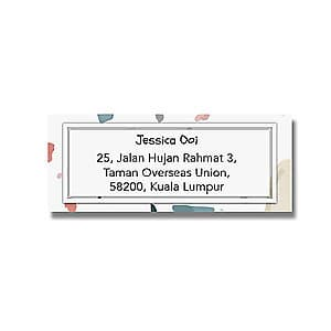 Address Label - Pastel