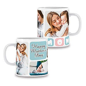 Photo Mug Mum Collage 4 - 11oz