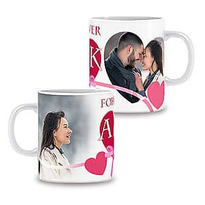 Photo Mug Forever Love Red - 11oz