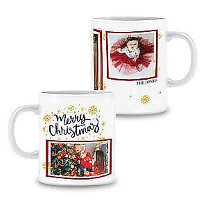 Photo Mug Merry Christmas - 11oz