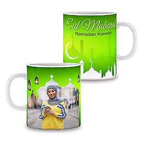 Photo Mug Eid Mubarak - 11oz
