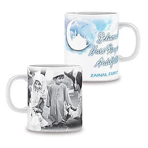 Photo Mug Hari Raya - 11oz