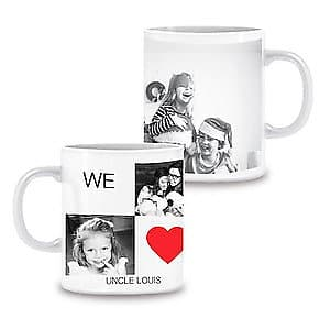 Photo Mug We Love You - 11oz