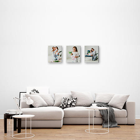 Multi Canvas Print - Portrait Of 3