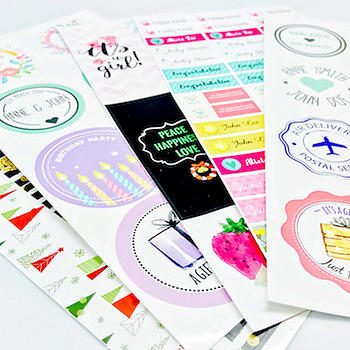 Packaging Sticker Labels - Upload Your Own