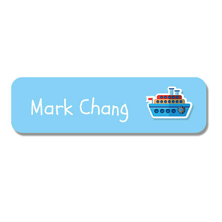 Small Name Label - Ferry