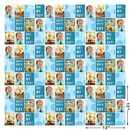 Wrapping Paper - Oh My Boy!