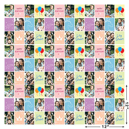Wrapping Paper - Happy Birthday To You